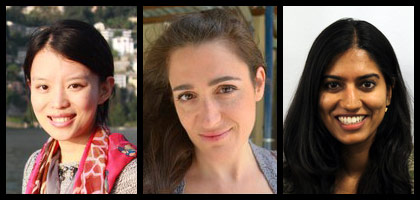New women faculty at Brandeis University