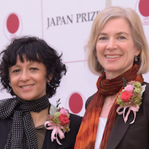 Drs. Charpentier and Doudna, winners of the Japan Prize