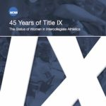 Report Documents the Progress of Women in College Sports Under Title IX